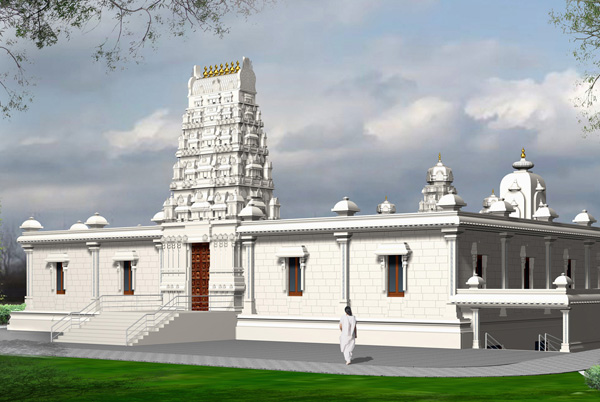 1-Hindu Temple and Cultural Center - Champaign County, Illinois2